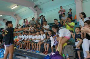 泳隊預備班訓練