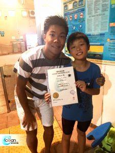 兒童游泳班 證書課程