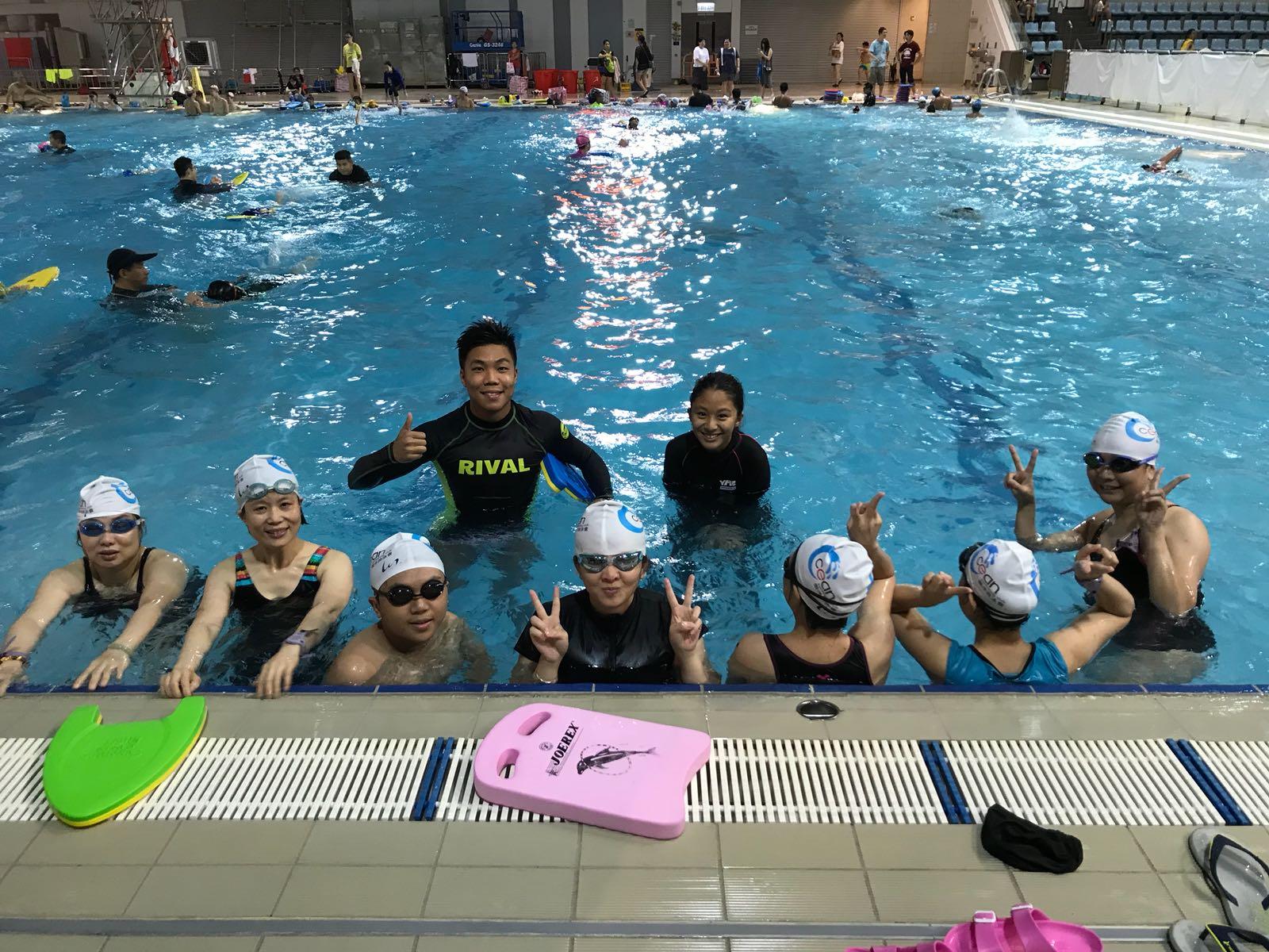 游泳班成人課程成人班學游水