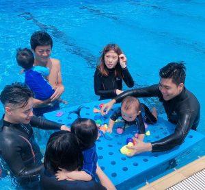 親子嬰幼兒playgroup游泳班-蒙特梭利教學法