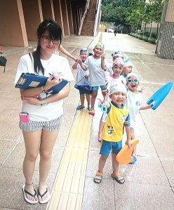 兒童游泳班